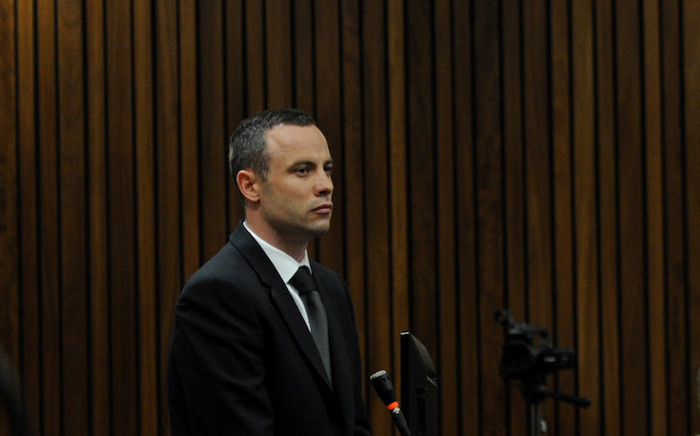 FILE: Oscar Pistorius appears in the High Court in Pretoria.