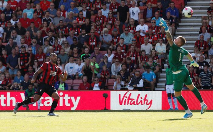 Callum Wilson scored twice for Bournemouth. Hos team beat Everton 3-1 on Sunday, 15 September 2019. Picture: @PLinUSA/Twitter