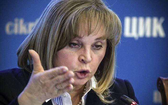 FILE: Head of Russia's Central Election Commission Ella Pamfilova. Picture: AFP
