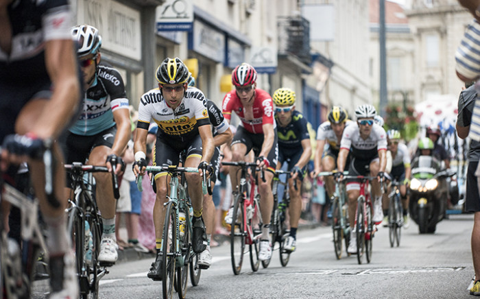 Race pictures featuring team Team MTN-Qhubeka in Valence, France on 19 July 2015. Picture: Thomas Holder/EWN.