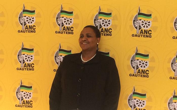 Tshwane mayoral candidate Thoko Didiza is among ANC mayoral candidates introduced in Saxonwold on 23 June. Picture: Masa Kekana/EWN