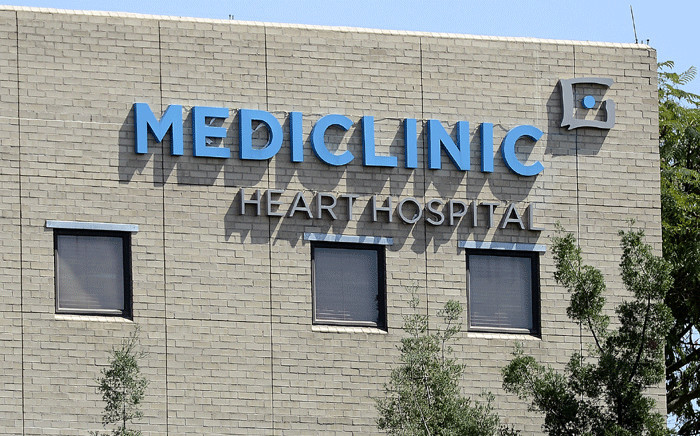 FILE: A picture taken on 28 March 2013 shows a partial view of the Mediclinic Heart Hospital in Pretoria. Picture: AFP.