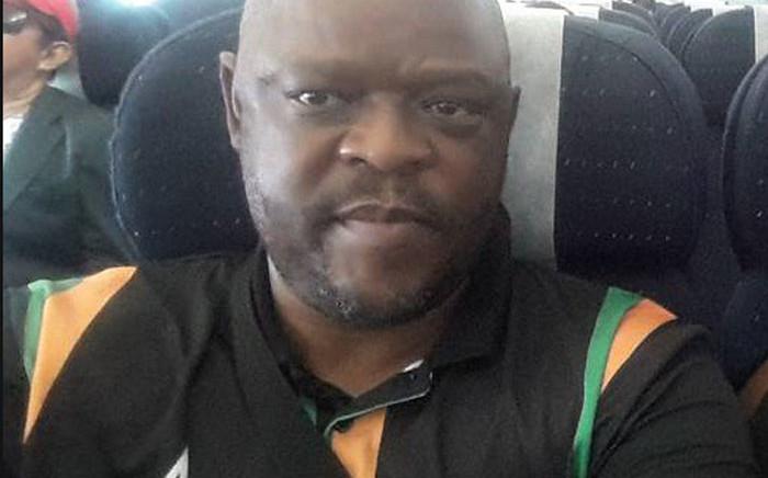 Lieutenant Colonel Tankiso Moshoeshoe wearing ANC colours. Picture: Supplied