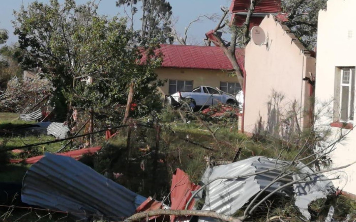 Parts of the Watervaal Correctional Services facility, including 20 houses which were used to accommodate staff, were damaged. Picture: Arrive Alive/Twitter