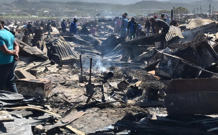 Ward Councillor Felicity Purchases said mop-up operations and assessments were under way. Picture: Kevin Brandt/EWN