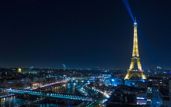 A view of the Eiffel Tower. Picture: Twitter/@LaTourEiffel.
