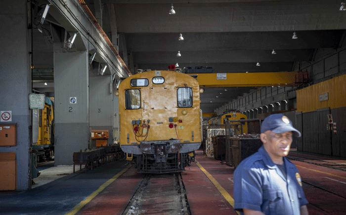 FILE: A view inside the Prasa repair depot. Picture: Thomas Holder/EWN.