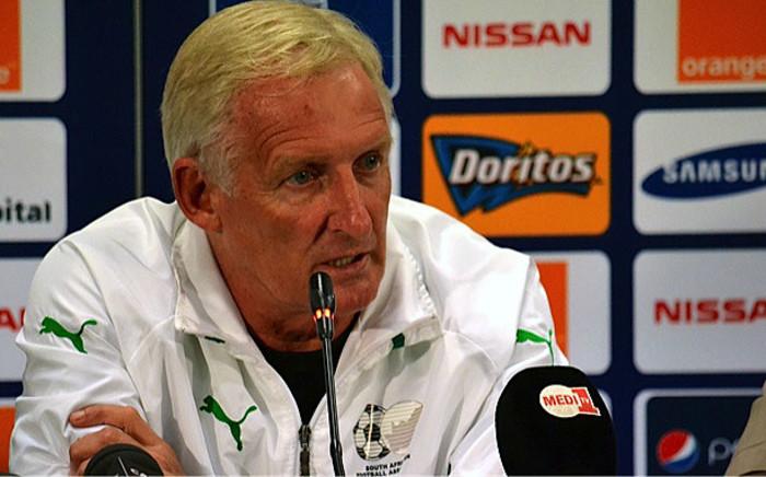 Bafana coach Gordon Igesund. Picture: Aletta Gardner/EWN