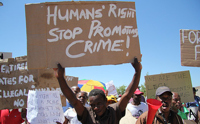 Residents who lost their homes during the Lenasia demolitions will get new houses next year.