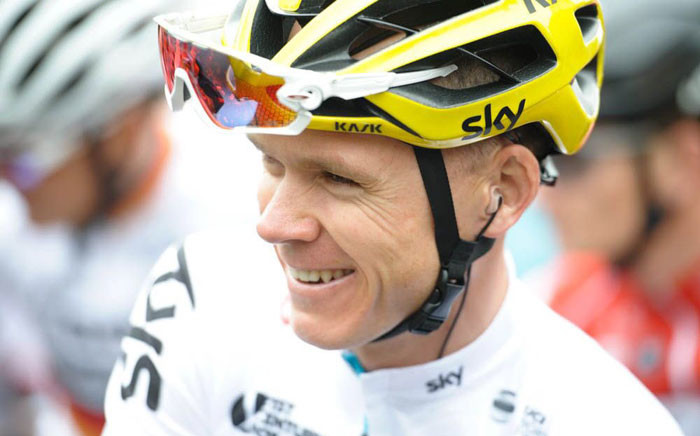 FILE: Chris Froome. Picture: Twitter/@chrisfroome.