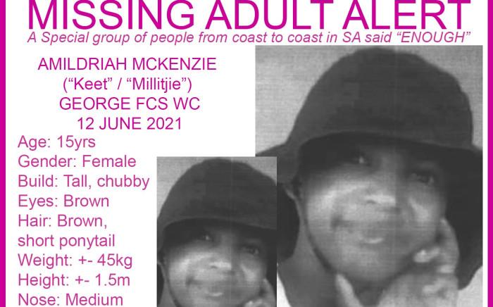 Missing teen, Amildriah Mckenzie
