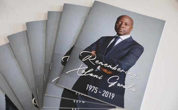 The memorial service for journalist Xolani Gwala at the Grace House Family Church in Johannesburg on 7 November 2019. Picture: Christa Eybers/EWN