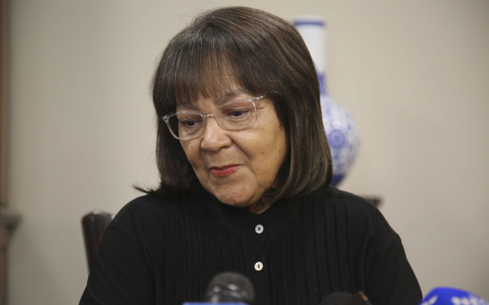 Cape Town Mayor Patricia de Lille addresses the media after a motion of no confidence against her was withdrawn in the city council on 26 July 2018. Picture: Cindy Archillies/EWN