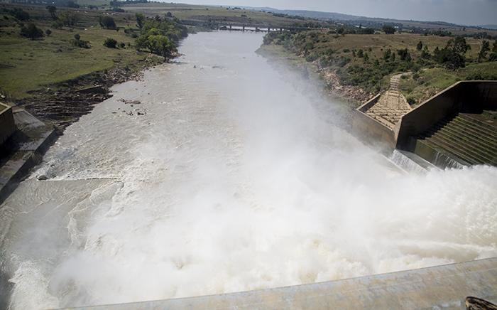 The Vaal Dam, south of Johannesburg. Picture: EWN.