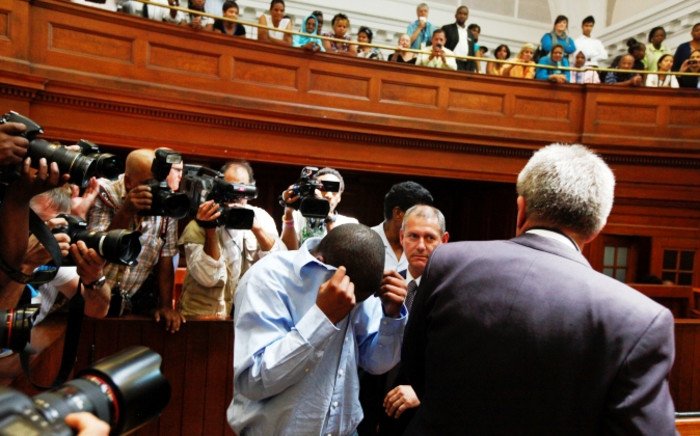 FILE: State witness Zola Tongo at the Western Cape High Court on 7 December 2010. Picture: EPA.