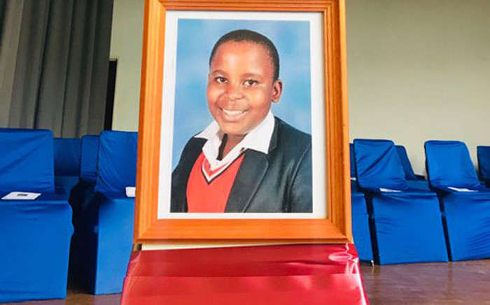 Ferndale High School pupil Kelebogile Molopyane fell to his death last week. Picture: EWN
