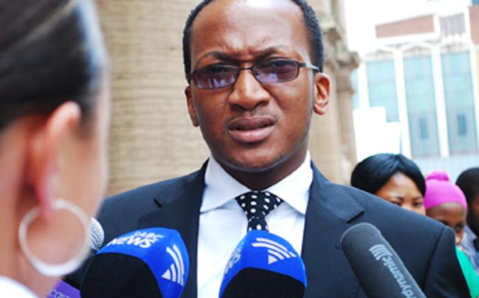 The justice department's Mthunzi Mhaga. Picture: EWN.