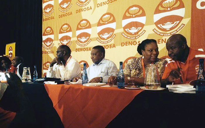 FILE. Leaders of the Tripartite Alliance went head to head over the future of its existence at Denosa's Special Congress on Thursday 30 October 2014. Picture: Govan Whittles/EWN