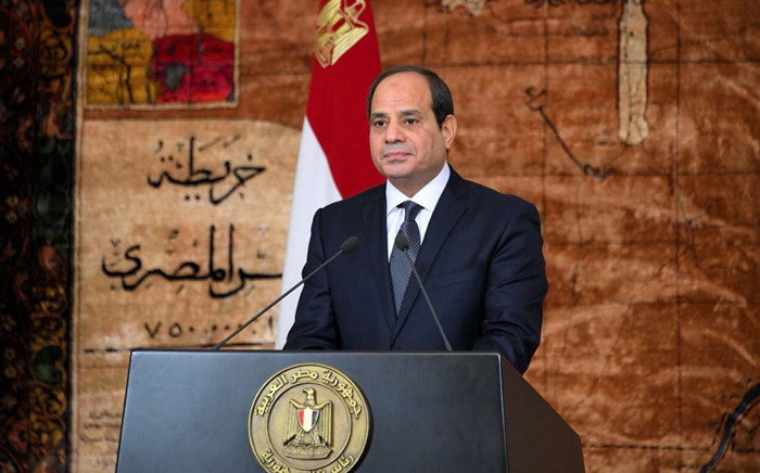FILE: President Abdel Fattah al-Sisi. Picture: @AlsisiOfficial/Twitter