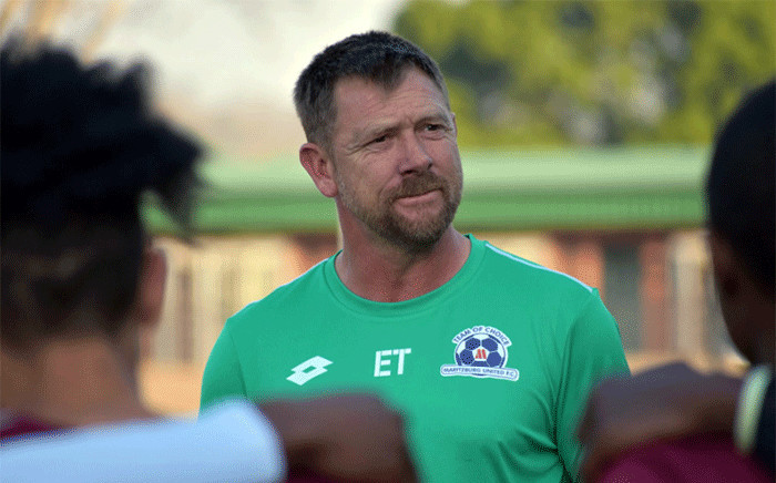 Maritzburg United coach Eric Tinkler. Picture: maritzburgunited.co.za
