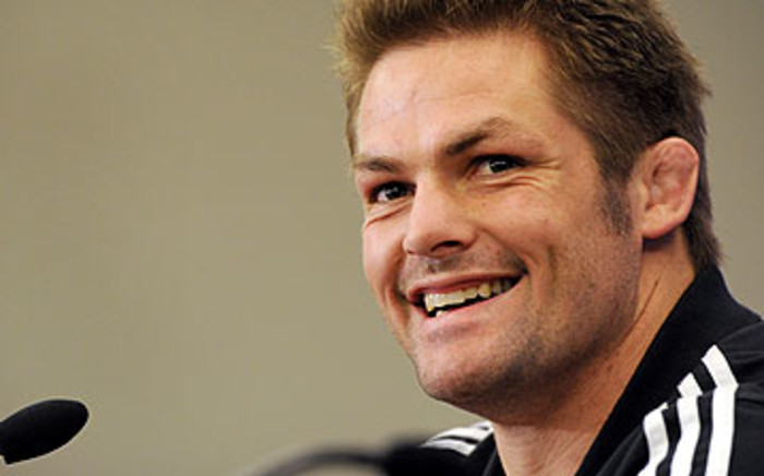All Black captain Richie McCaw. Picture: AFP