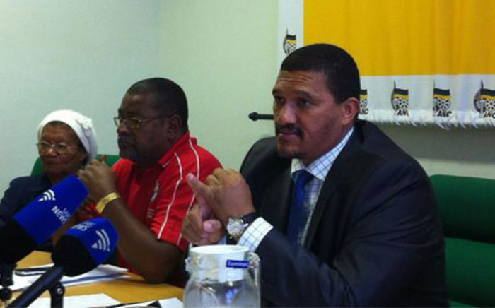 Western Cape ANC leader Marius Fransman. Picture: Chanel September/EWN