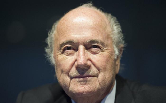 Fifa President Sepp Blatter. Picture: AFP.