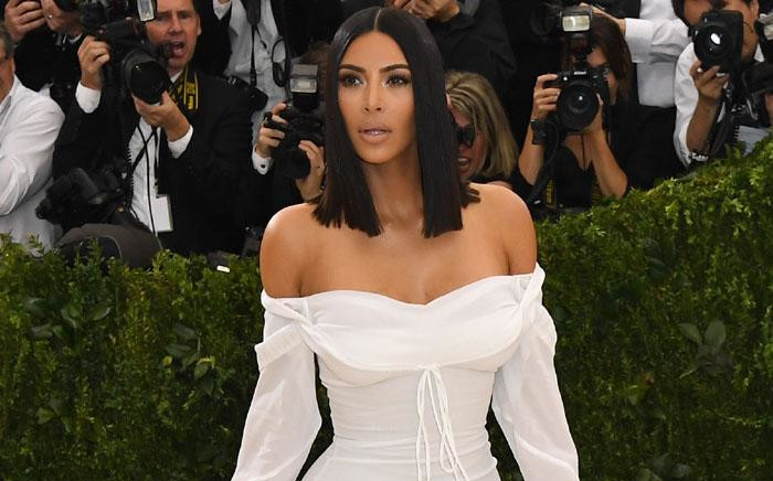 Kim Kardashian at the Costume Institute Benefit on 1 May 2017 at the Metropolitan Museum of Art in New York. Picture: AFP