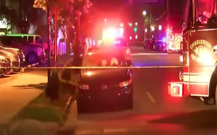 A gunman opened fire on Wednesday evening at a historic African-American church in downtown Charleston, South Carolina, killing nine people. Picture: screengrab.