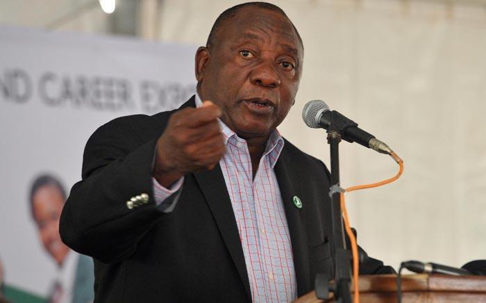 FILEL: Deputy President Cyril Ramaphosa. Picture: GCIS.