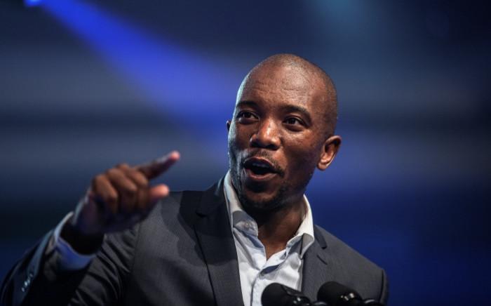 DA leader Mmusi Maimane. Picture: AFP.