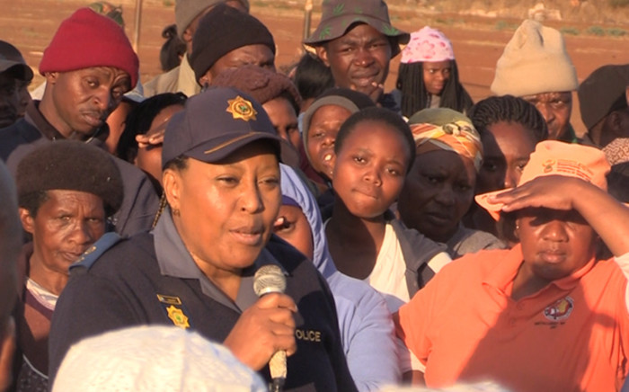 Resurgence of violence in Khutsong a concern with police struggling to defuse tensions. Picture: Kgothatso Mogale/EWN