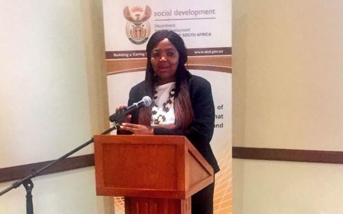 Interim Sassa chief executive Pearl Bengu. Picture: @OfficialSASSA/Twitter