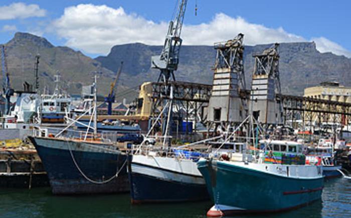 FILE: Fishing boats in Cape Town. Picture: Aletta Gardner/EWN