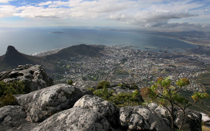 FILE:Table bay and the city of Cape Town viewed from the top of Table Mountain. Picture: Nic Bothma/EPA.