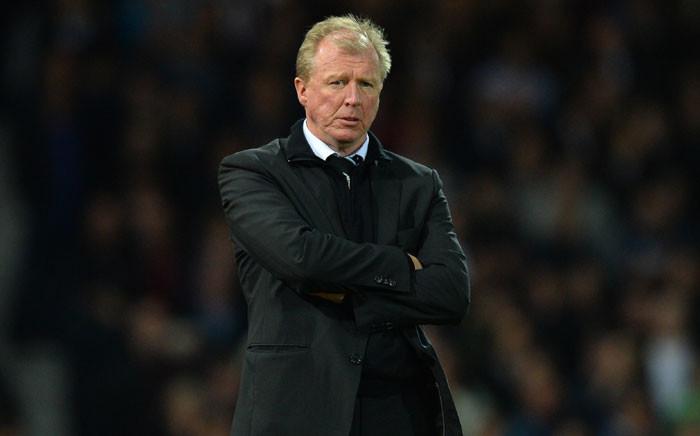 Newcastle United's English head coach Steve McClaren. Picture: AFP.
