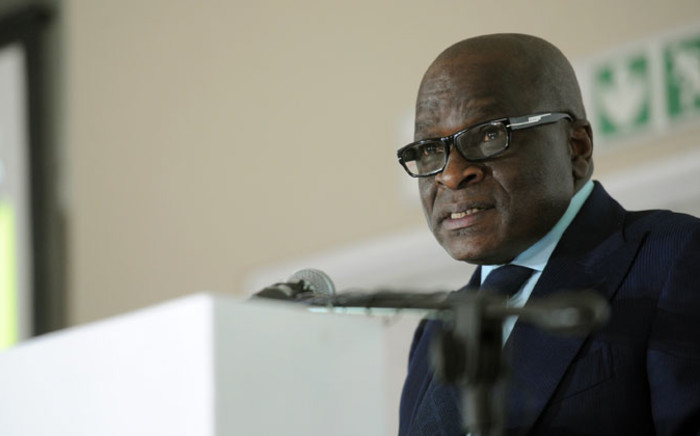 FILE: Ngoako Ramatlhodi, Minister of Mineral Resources, speaks at the 2014 Joburg Indaba on investing in mining and resources in Johannesburg on 8 October 2014. Picture: Sapa.