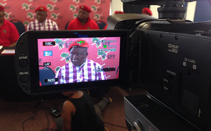 Kaizer Kganyago says the EFF can do whatever it likes, but the SABC will go to court if necessary. Picture: Christa van der Walt/EWN