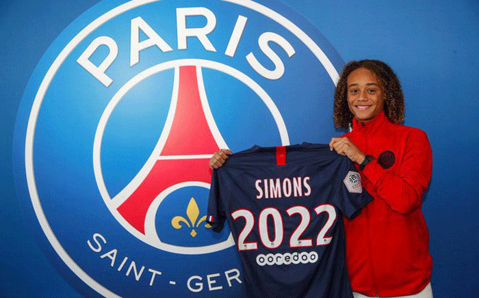 Paris Saint-Germain have signed 16-year-old Xavi Simons on a three-year contract. Picture: @PSG_English/Twitter.