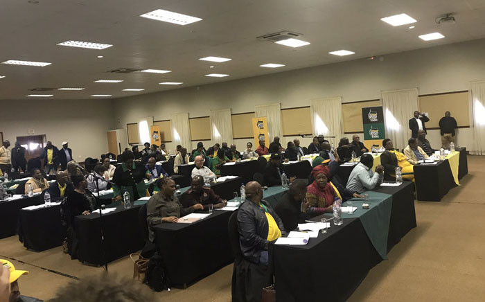 FILE: Members of the ANC during the NEC meeting in Pretoria. Picture: Clement Manyathela/EWN