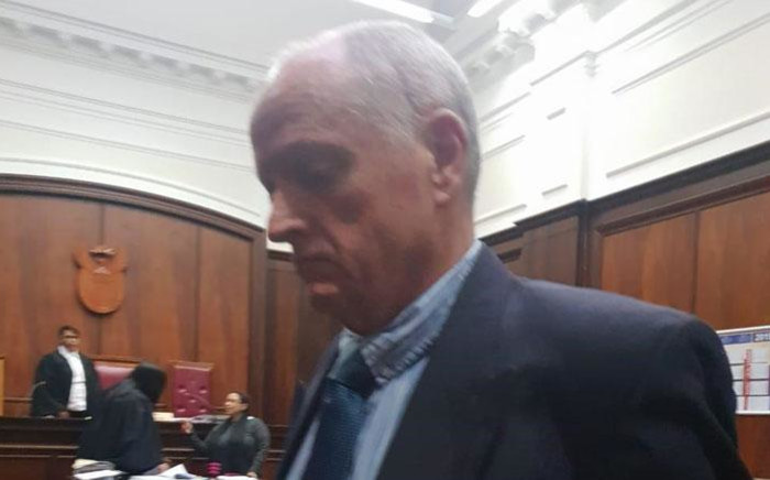 Murder accused Rob Packham at the Western Cape High Court on 11 March 2019. Picture: Shamiela Fisher/EWN