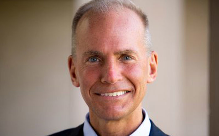 Boeing CEO Dennis Muilenberg. Picture: @BoeingCEO/Twitter