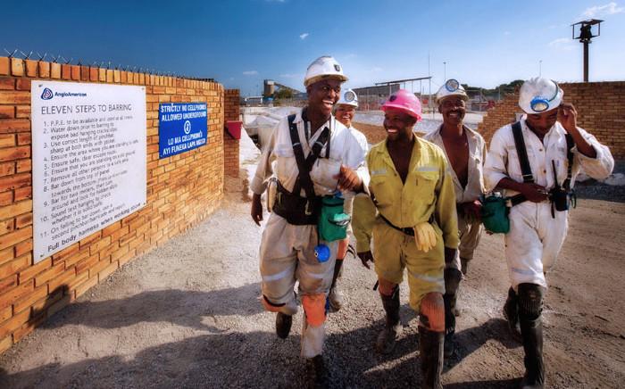 Miners at Amplats' Union mine in Rustenburg. Picture: www.angloamericanplatinum.com
