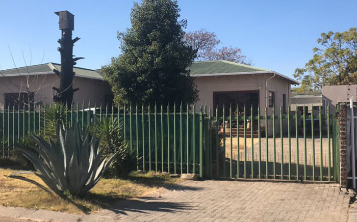 The Brakpan home where four members of a family were murdered on 10 July 2019. Picture: Bonga Dlulane/EWN