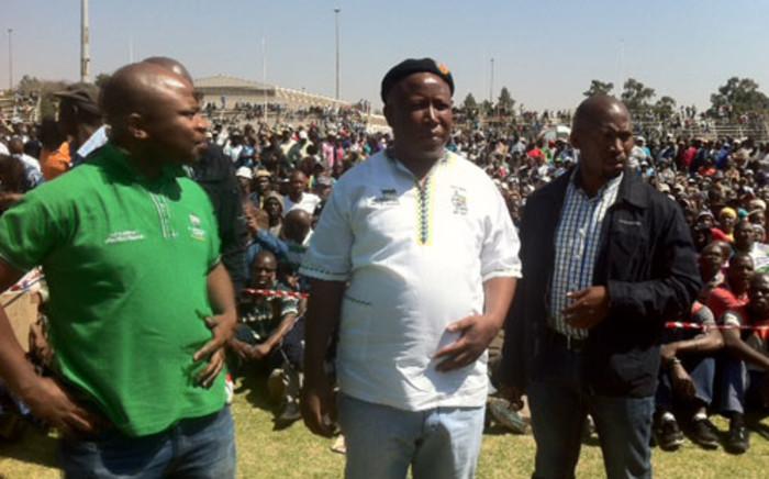 Expelled ANC Youth League Leader Julius Malema. Picture: Taurai Maduna/EWN