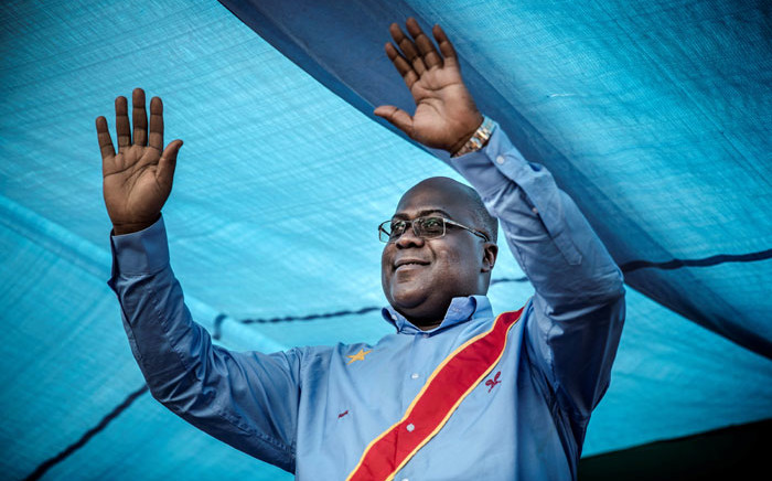 DRC presidential candidate Felix Tshisekedi. Picture: AFP