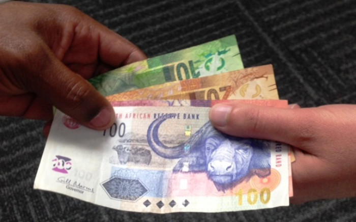 South African rand. Picture: Reinart Toerien/EWN.