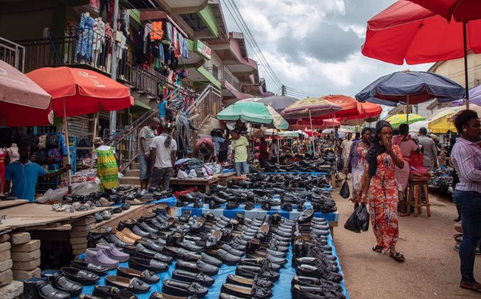 The Kumasi Central Market