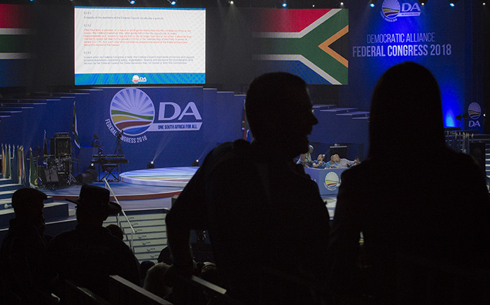 Internal rifts in the DA is showing. Who will take the powerful position of federal executive chair? Picture: Sethembiso Zulu/EWN