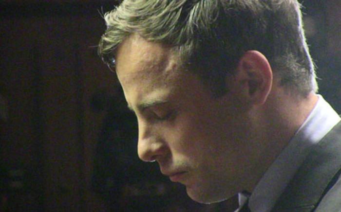 Oscar Pistorius during his murder case in the Pretoria Magistrate's Court on 19 August 2013. Picture: Christa Van der Walt/EWN.